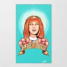 St. Leeloo of the Big Bada Boom Canvas Print
