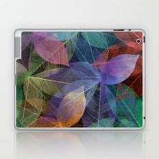 Colored Leaf Pattern 2 Laptop & iPad Skin