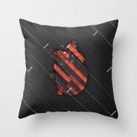 Maniac Throw Pillow