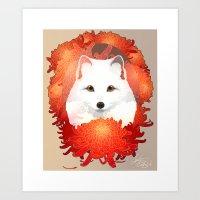 Foxanthemum  Art Print