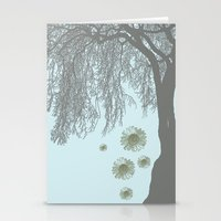 Weeping Sunflower Tree Stationery Cards