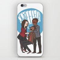 Screech iPhone & iPod Skin