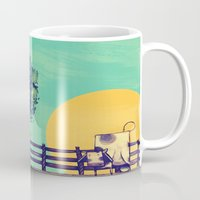 Cow Sunset Mug