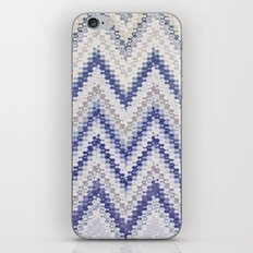 PURPLE SEVENTIES CHEVRON iPhone & iPod Skin