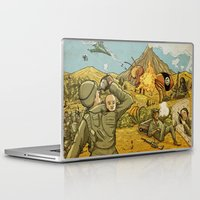 Laptop & iPad Skin featuring #ISIS #ISIL #IS #WHATEVER by Lee Grace Illustration