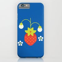 iPhone & iPod Case featuring Fruit: Strawberry by Christopher Dina