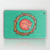 A Dreaming Fox Laptop & iPad Skin