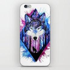 Galaxy Wolf iPhone & iPod Skin