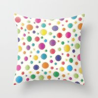Here Comes The Early Summer Holidays Throw Pillow
