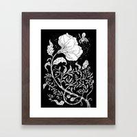 Abuzz Framed Art Print