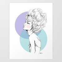 Up Do It Art Print