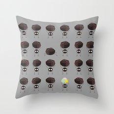 Susuwatari - Spirited Away Throw Pillow