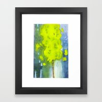 Whee, A Tree! Framed Art Print