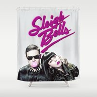 Sleigh Bells Shower Curtain