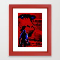 CAESAR IS HOME! (Rise of the Apes) Framed Art Print