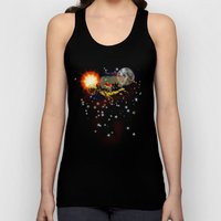 SPACE TURTLE VII - 202 Unisex Tank Top