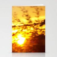 Crepusular Light Stationery Cards