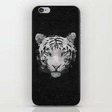 Meduzzle: White Lion iPhone & iPod Skin