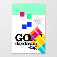 Gone Daydreamin'—art P… Canvas Print