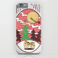 iPhone & iPod Case featuring Hello Santa by Jelot Wisang