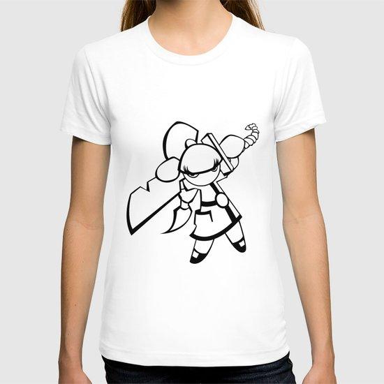 Kawaii Doll Samurai T-shirt