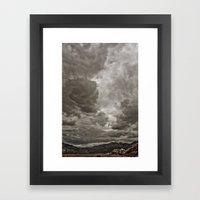 PEACEFUL FRUSTRATION Framed Art Print