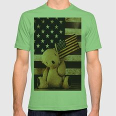 Palin Bear Mens Fitted Tee Grass SMALL