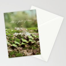 Full of love Stationery Cards