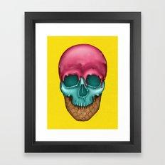 Skull Icecream Framed Art Print