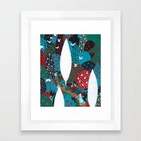Russian Folk Tales - Tzar of the seas Framed Art Print