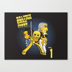 Beatrix Kiddo Vs The De.Vas Canvas Print