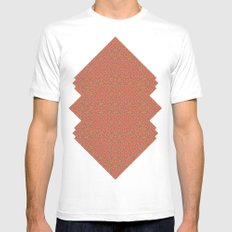 A Conundrum of Colour. White Mens Fitted Tee SMALL