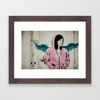 Lonely Youth Framed Art Print