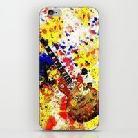 Les Paul Retro Abstract iPhone & iPod Skin