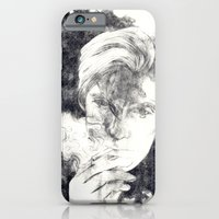 iPhone & iPod Case featuring Smoke by Anna Tromop Illustration