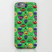 iPhone & iPod Case featuring Sesame Street Pattern by MOONGUTS (Kyle Coughlin)
