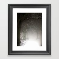 Haunted Memories Framed Art Print