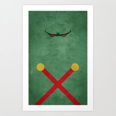 Martian Manhunter Art Print