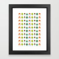 The Essential Patterns of Childhood - Home Framed Art Print