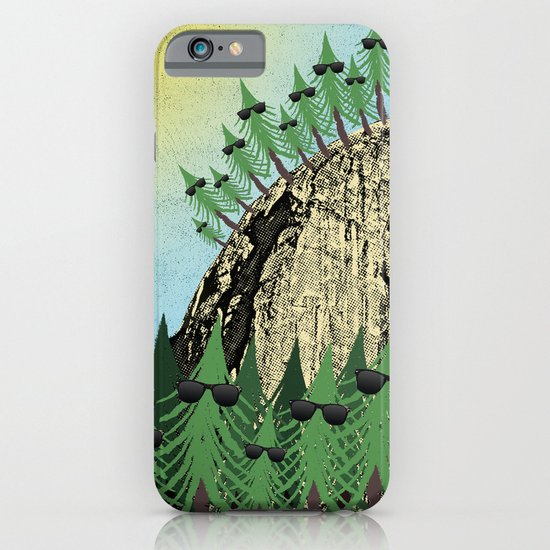 Sunning Trees Print iPhone & iPod Case