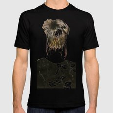 Emma  Mens Fitted Tee SMALL Black