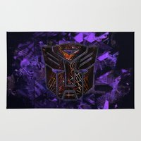Autobots Abstractness - Transformers Rug