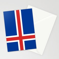 National flag of Iceland - Authentic Stationery Cards