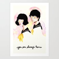 You are always home Art Print