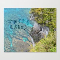 Come Away With Me Canvas Print