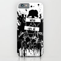 iPhone & iPod Case featuring GuessWho? *remastered* by ḋαɾќṡhαḋøώ .