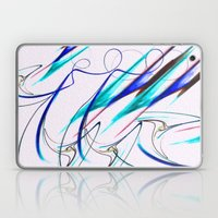 Snow Blinded - Abstract Digital oil Painting Laptop & iPad Skin