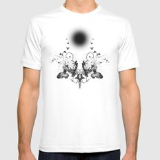 sun Mens Fitted Tee SMALL White