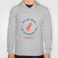 Aristotle - We are what we repeatedly do. Greek Hoody
