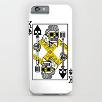 iPhone & iPod Case featuring Dead King Card by MEKAZOO